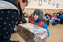 Mikulášská nadílka pro ukrajinské děti.