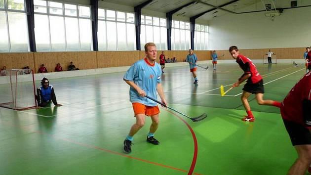 Přemysl Novák. Sportovní klub SK p.e.m.a. Opava funguje oficiálně sedm let. Neoficiálně tento floorbalový tým existuje už od roku 1992.