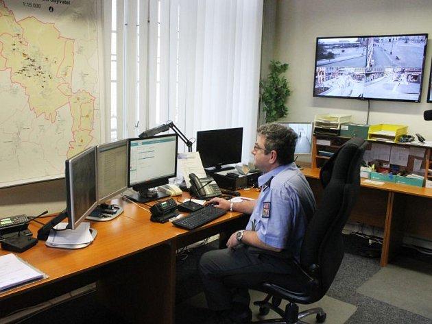 Opavský kamerový systém mohou využívat také policisté na pracovišti v ulici Hrnčířské.
