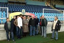 Klub přátel opavského fotbalu navštívil Slezský FC.