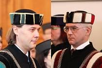 Pavel Tuleja (vlevo) a Miroslav Engliš
