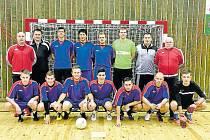 Bronzový tým z turnaje v Tachově. V sestavě nechyběli ani Opavané.