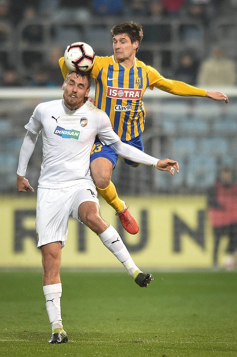 Jaroslav Svozil v dresu SFC Opava. Ilustrační foto.