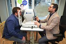 Slezská nemocnice Opava otevřela oční ambulanci vBruntále.
