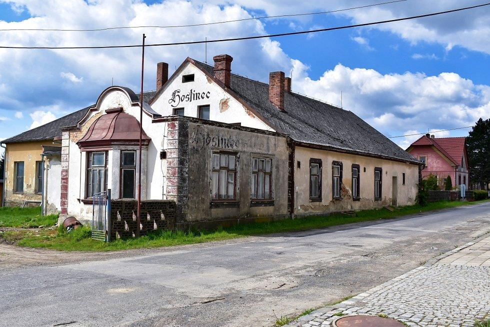Bývalá hospoda v Úvalně