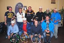 Nejúspěšnější závodníci letošní sezony autokrosového seriálu Auto Lašák Hyundai Cup Rýmařov.