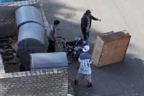 Vybírají po Bruntále odpadové nádoby a dělají nepořádek v ulicích, po kterých pohází cokoliv, co se jim zrovna nehodí.
