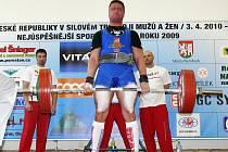 Na republikovém mistrovství v silovém trojboji vybojoval Petr Vlach v kategorii do 100 kg sedmé místo.