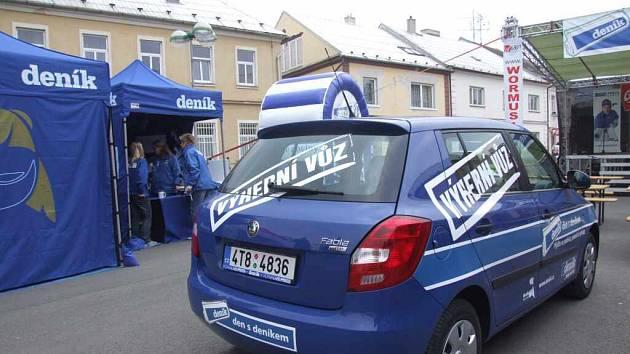 Podobně jako ve Městě Albrechticích, bude možné i v Bruntále hrát o Škodu Fabii.