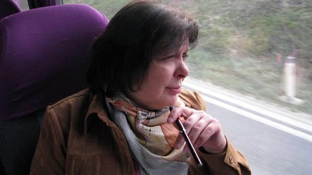 Krnovská starostka Renata Ramazanová jako silná kuřačka měla obavy před cestou do USA, jak zvládne pobyt v letadle i v zemi bez cigarety.