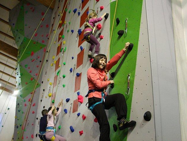 Nová horolezecká stěna vKrnově