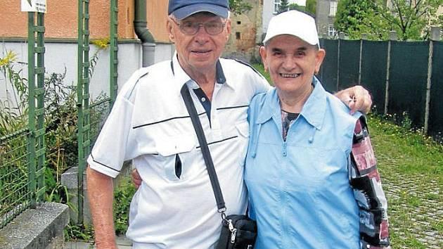 Svatbu měli v úvalenském kostele 21. září roku 1957. Jaký mají po šedesáti letech soužití recept na dobré manželství?