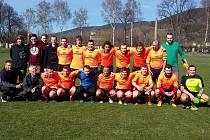 Fotbalisté Sokola Karlovice vedli okresní přebor už po podzimní části, na jaře svou roli potvrdili a vyhráli s velkým náskokem před druhou Vysokou. Mohou se tak těšit na 1.B třídu.