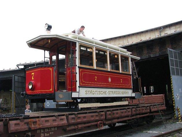 Unikátní tramvaj je dokončena a nechybí ani ty nejmenší detaily.
