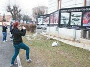 Pouliční kampaň proti interrupcím Stop genocidě provázela v Krnově kontroverzní výstava fotografií. Byly na ní zobrazeny snímky potracených plodů vedle fotografi í válečných masakrů a masového vraždění například ve Rwandě nebo v období holocaustu.