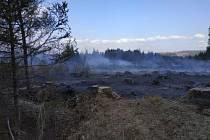 Čtvrteční požáry v přírodě zaměstnaly hasiče na Bruntálsku.