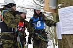 Jeseníky hostily mezinárodní Mistrovství Armády České republiky vzimním přírodním víceboji Winter Survival 2019.