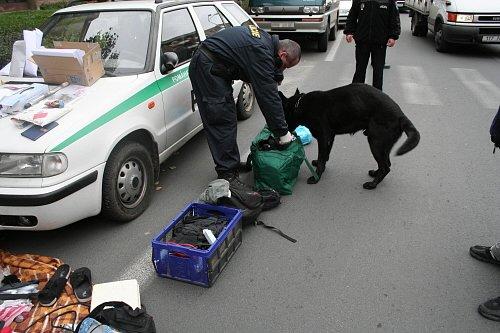 Zatčení celostátně hledaného devětadvacetiletého muže z Moravského Berouna.