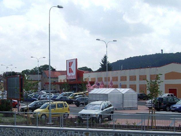 Kaufland v Krnově.