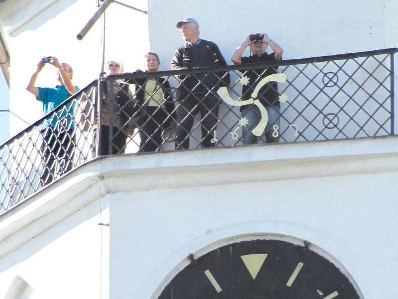 Svatý Martin v roce 2014 zpřístupnil své věže veřejnosti. Láká turisty na prohlídku bytu věžníka, který bydlel v kostelní věži.