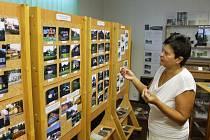 Srovnávací snímky, jak vypadal Ludvíkov před pětadvaceti lety a jak vypadá dnes, představila v muzeu na obci starostka Dana Selingerová.