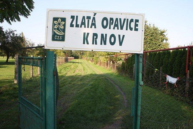 Krnovské zahrádkářské kolonie Úsvit, Zlatá Opavice zasáhne výstavba obchvatu.