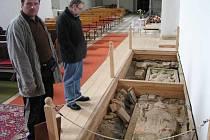 Bohušovský kostel má co nabídnout také turistům.