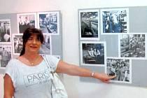 Krnované na výstavě fotografií Stanislava Bačovského nachází své kamrády, sousedy, kolegy, učitele, spolužáky, známé i příbuzné.