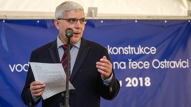 Jiří Pagáč byl generálním ředitelem Povodí Odry od listopadu 2014 do května 2019.