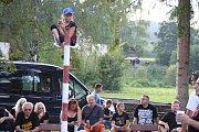 Šestý ročník rodinného festivalu Rockem proti přehradě v Nových Heřminovech.