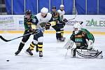 Hornobenešovští hokejisté (v zelenočerném) prožili rozporuplnou sezonu.