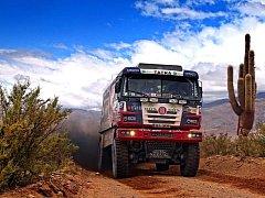 Labutí písní za letošní Rallye Dakar byla pro Martina Kolomého a posádku jeho kamionu nedělní sedmá etapa.