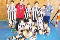Mladí fotbalisté Juventusu se radovali z vítězství.