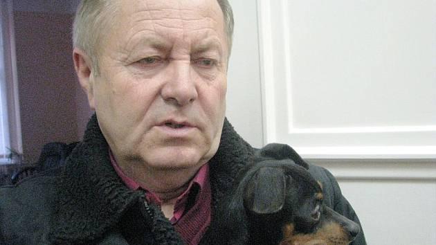 Tajemník Jiří Vodička.