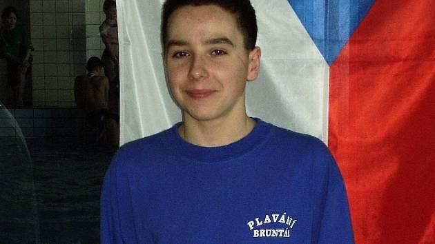 Milan Kašpařík se na domácích závodech neztratil.