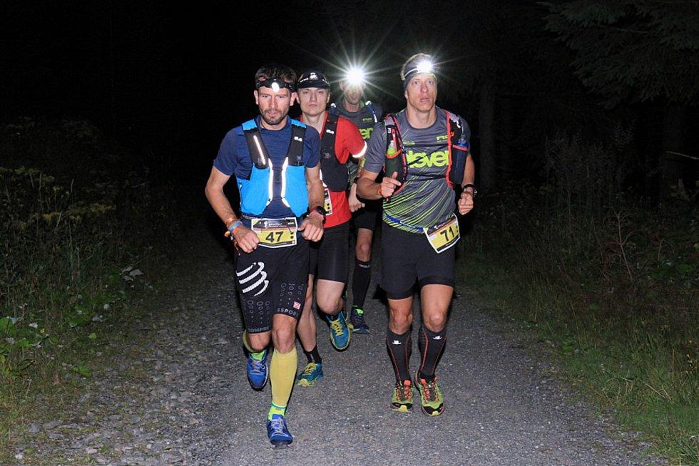 Nejrychlejší běžci Longu – Tomáš Klimša, Dominik Chlupáč, Jan Žaloudek, Radek Steklý (zleva).