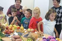 Výstavu ovoce, zeleniny a květin navštívilo přes 280 dětí a na 150 dospělých.