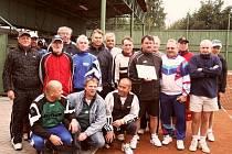 Účastníci tenisového turnaje seniorů v Horním Benešově byli s průběhem spokojeni.