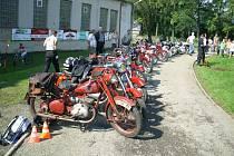 Řada motocyklů byla plná jedinečných skvostů. Některé stroje pamatují i dobu první republiky.