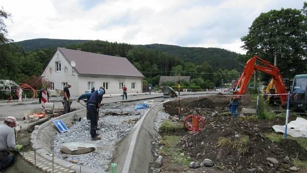 Projekt na zvýšení dopravní bezpečnosti ve Vrbně pod Pradědem byl ukončen.