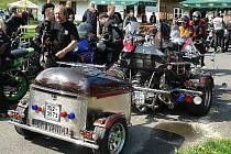 V Karlovicích si dají sraz motorky všech kubatur.