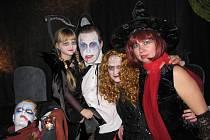 Halloweenské strašení se odehrálo v krnovské Flemmichově vile v páteční večer 30. října.