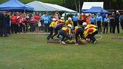 Holčovice hostily krajskou pohárovou soutěž hasičů, ve které se utkalo 17 družstev mladších a 17 družstev starších žáků.