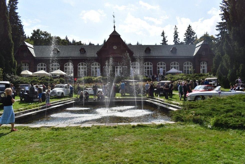 Podhorská jízda Trofeo Niké zakončila svou letošní trasu v Karlově Studánce.