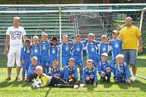 Družstvo Tygříků, tedy malí fotbalisté přípravky FC Slavoj Bruntál, je velkou budoucnosti bruntálského oddílu.