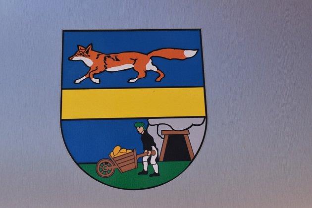 Znak města Vrbno pod Pradědem.