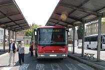 Autobusové nádraží v Rýmařově výrazně změní podobu. Po rekonstrukci bude menší.