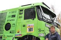 Martin Kolomý už je z Afriky doma. V ElChott rallye mezi kamionisty zvítězil, a už se těším na lednový závod Rallye Dakar v jižní Americe.
