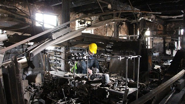Karnola je národní kulturní památka, která vyhořela 20. prosince 2017 krátce před zahájením revitalizace.