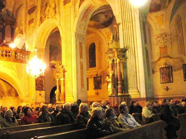 Krnovský minoritský kostel Narození Panny Marie.
